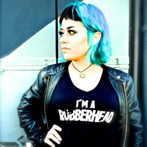 Women's T-shirts – You too, can be a RUBBERHEAD! For only $20